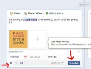06 Facebook scheduling