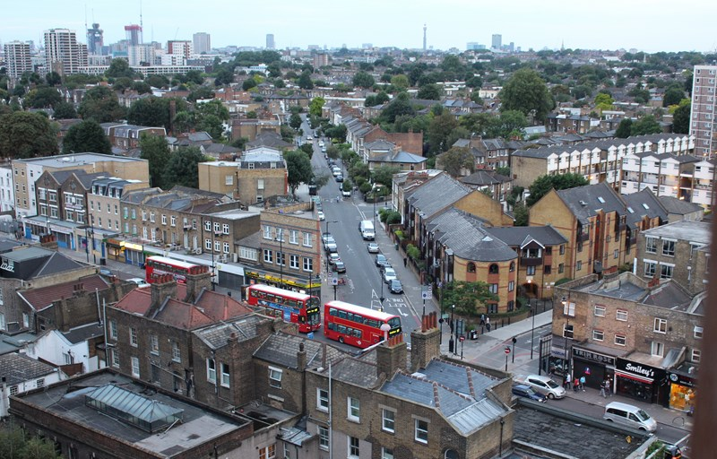 How to find a flat in London - Dalston view