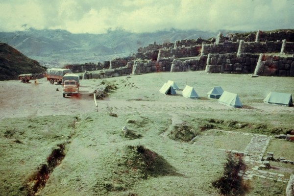 Encounter Overland TravelLiveLearn.com camping above Cusco