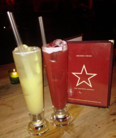 Date Night London under £40 Drunken Monkey