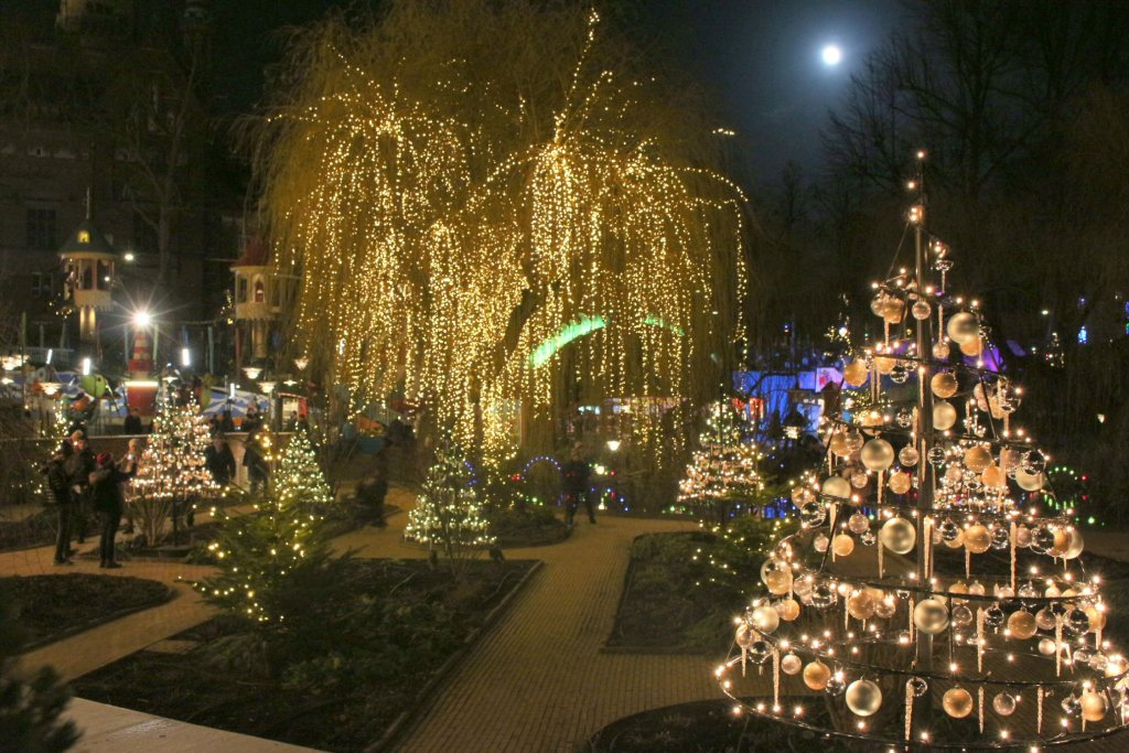 Tivoli is a magical Christmas in Copenhagen experience not to be missed