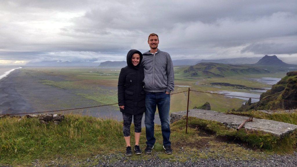 Ryan and Denyka Iceland - Cliffs Dyrholaey