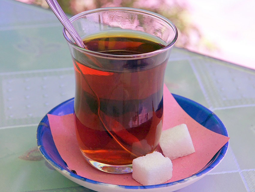 Turkish tea Wiki creative commons