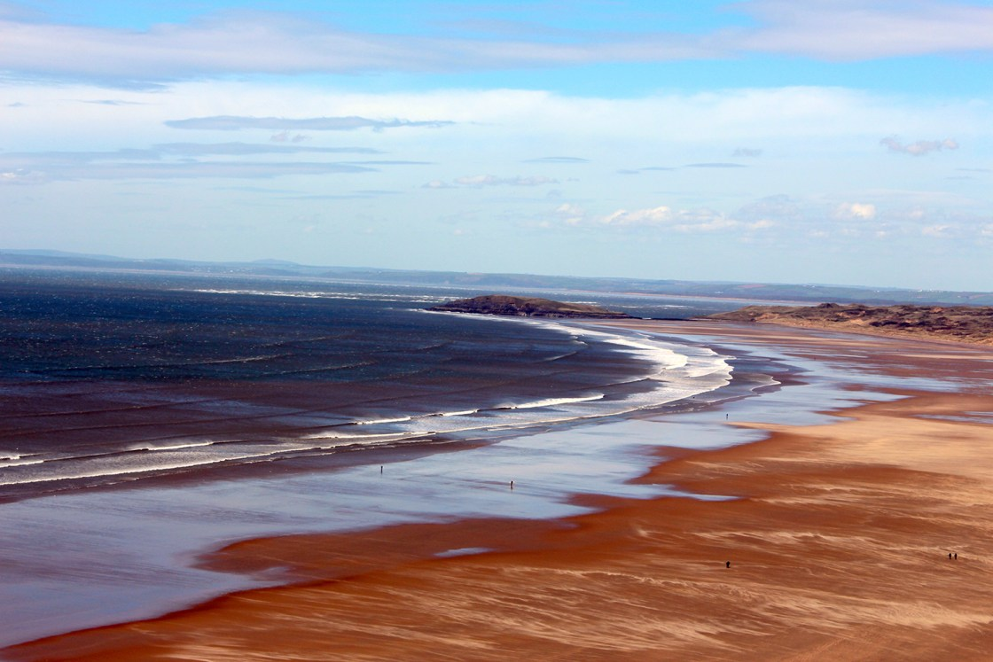 A must visit on you Wales road trip is Rhossili Bay