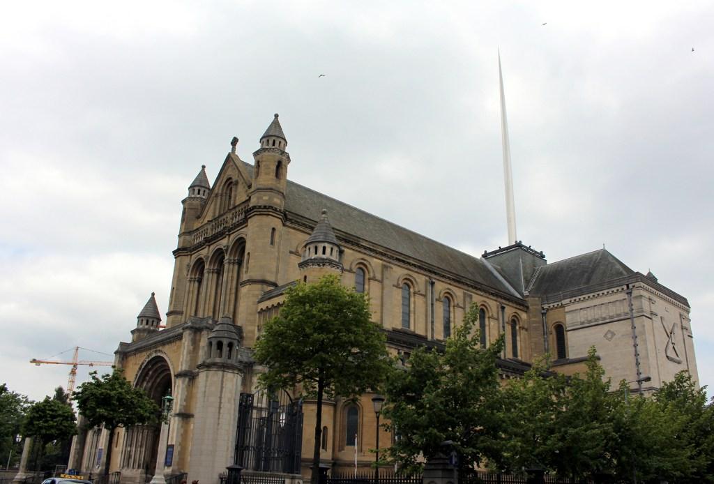 Saint Anne's cathedral Belfast Northern Ireland: Belfast city break