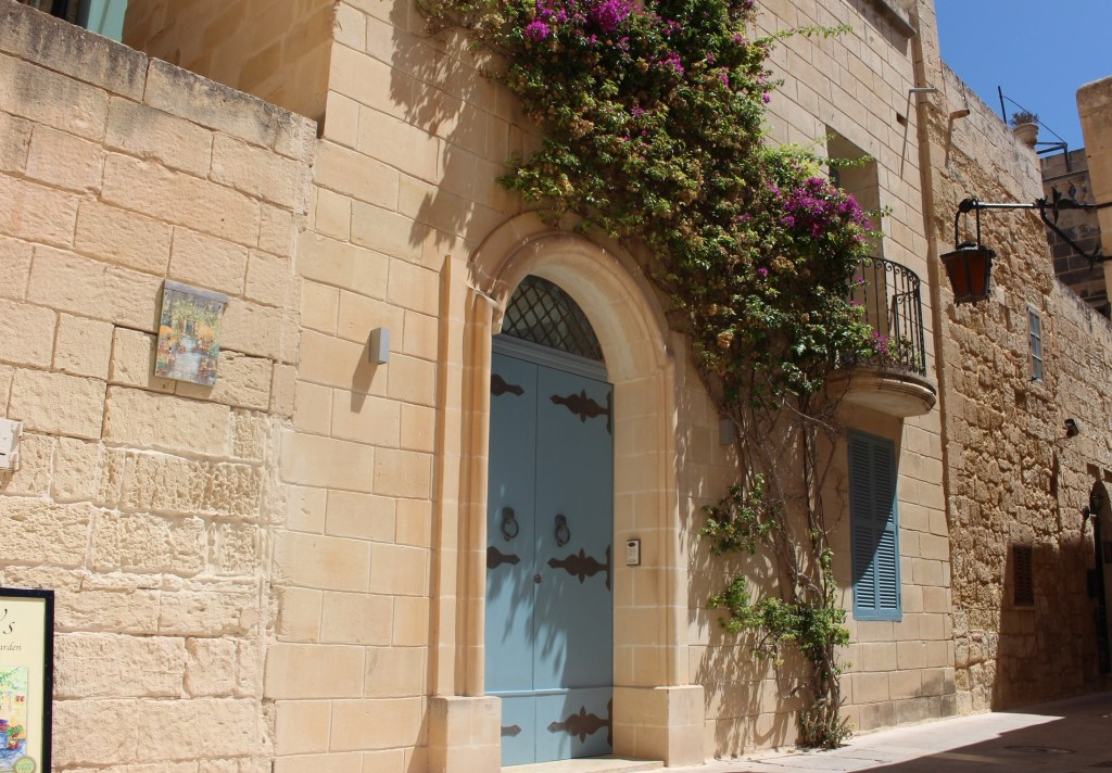 exploring the old streets of Mdina in Malta