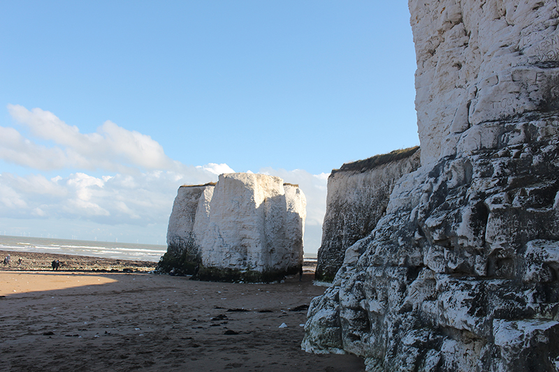 Days out in Kent: Botany Bay cliffs