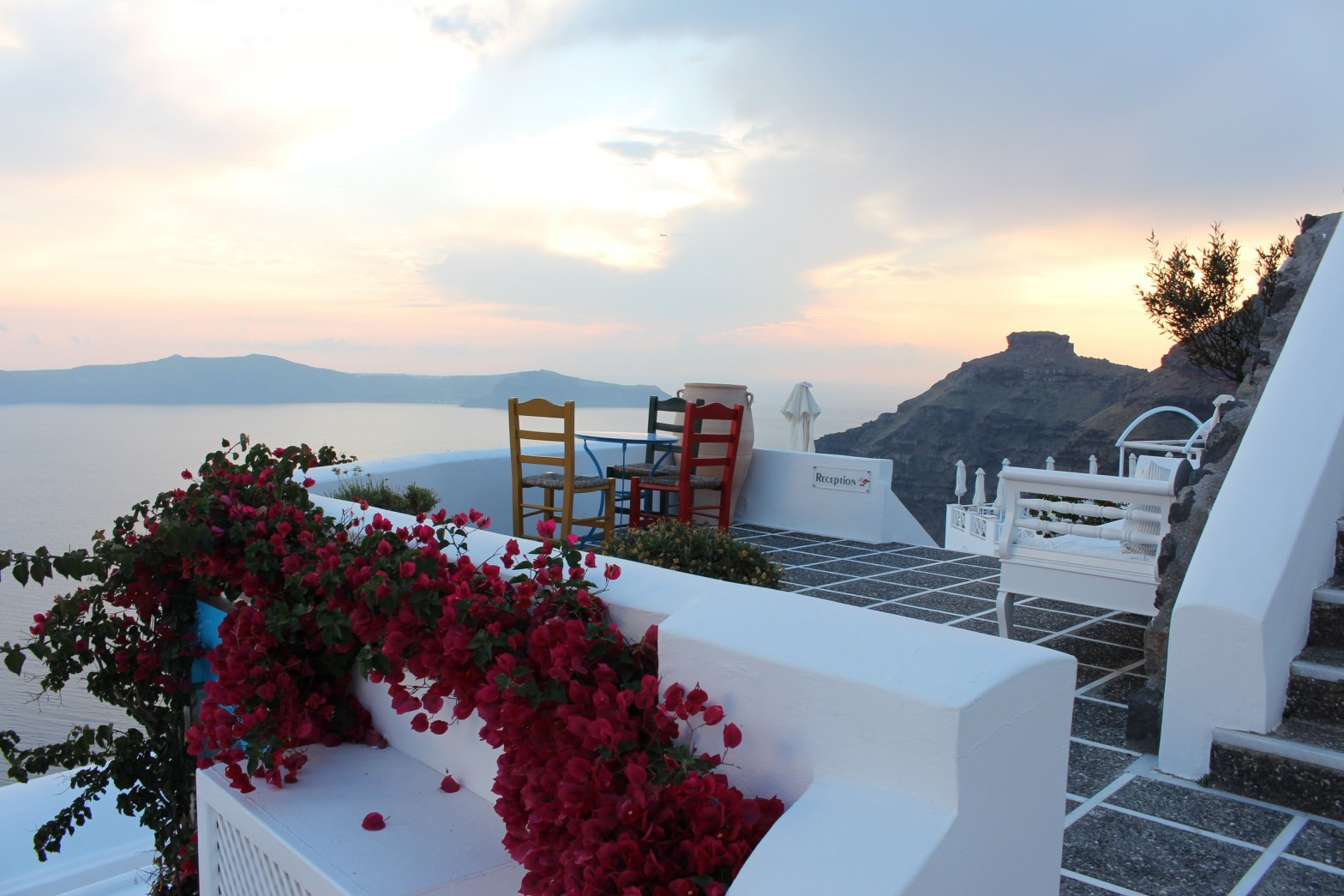 Manos - perfect for a Santorini Greece vacation
