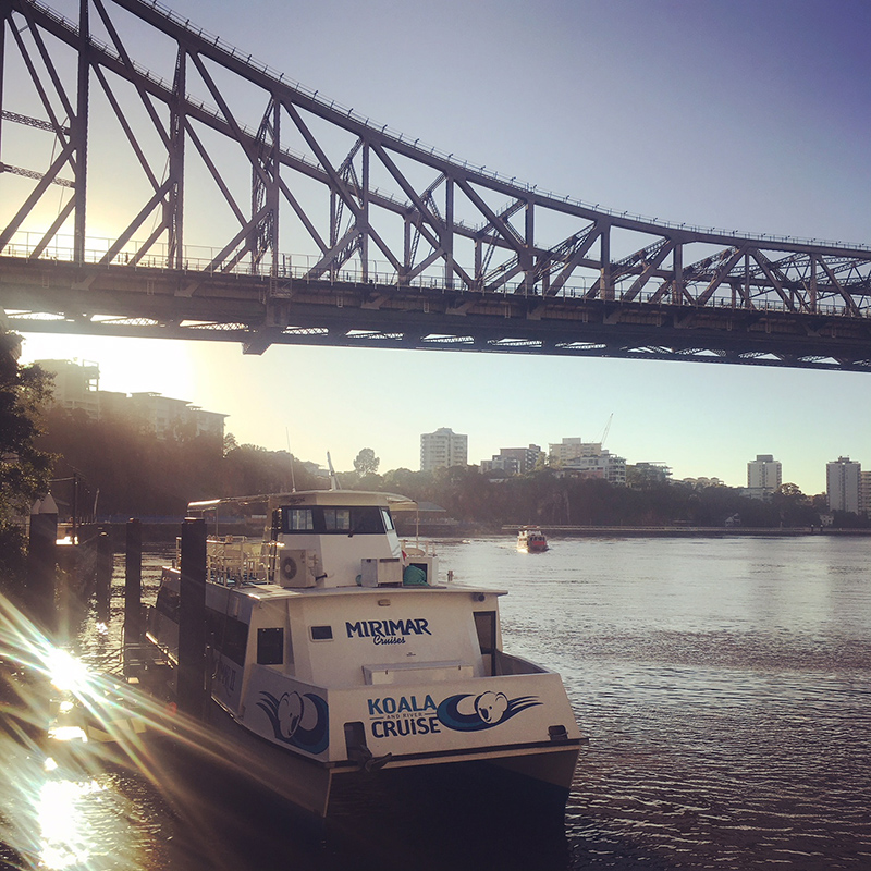 Brisbane to Gold Coast – the stunning Brisbane river