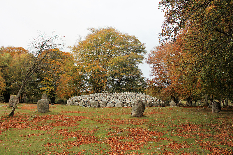 Things to do in Inverness – the ancient ruins of Clava Cairns