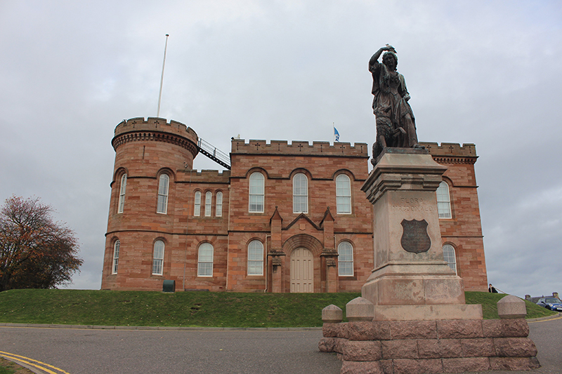 Things to do in Inverness: visit historical Inverness Castle