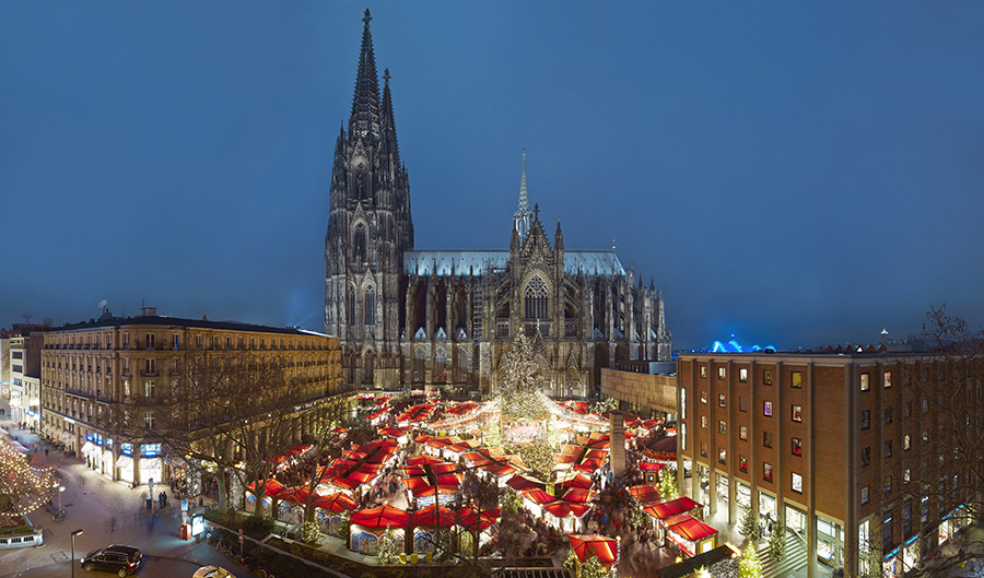 Christmas markets Cologne - Cathedral Market