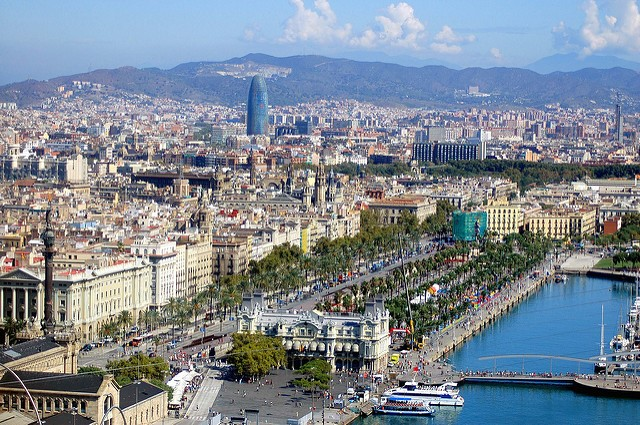 The best travel vloggers and bloggers' European destinations - Barcelona Spain