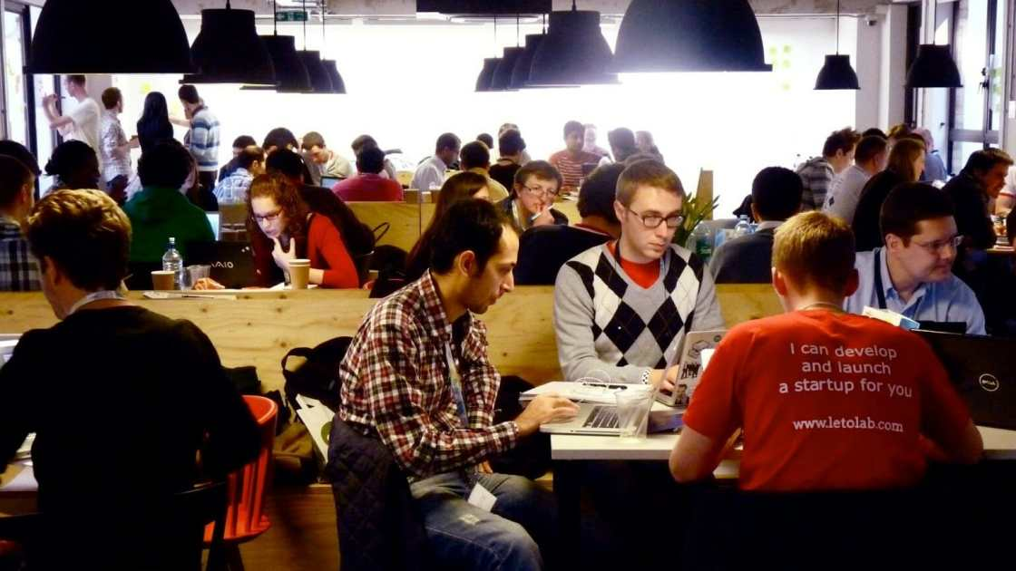coworking cafes in London - join Campus London for inspiration