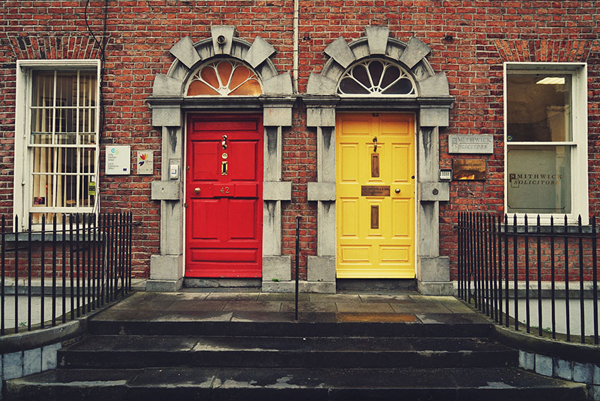 Hidden gems Dublin - wander the city streets for charming architecture