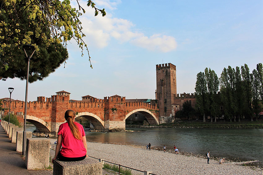 Romeo and Juliet setting - romantic Verona Italy