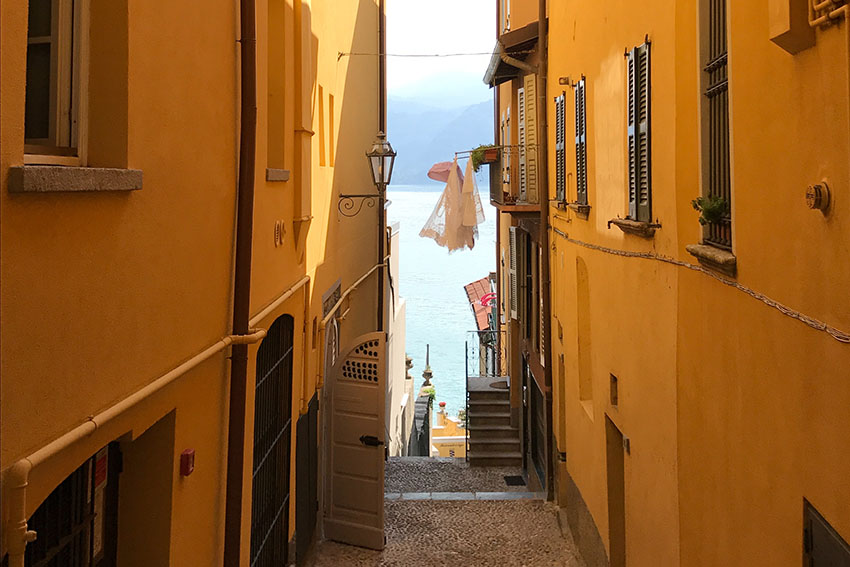 Varenna on Lake Como for a day trip from Milan by train