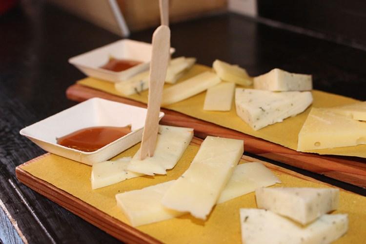 Venice facts - cheese cichetti
