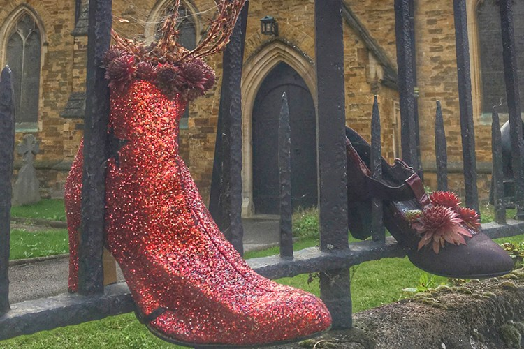 Northampton - filming for Kinky Boots and a history of shoemaking