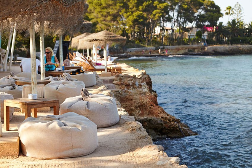 Babylon beach club Ibiza Santa Eulalia