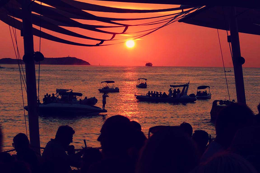 Ibiza sunsets - our fave spot is at Cafe Mambo