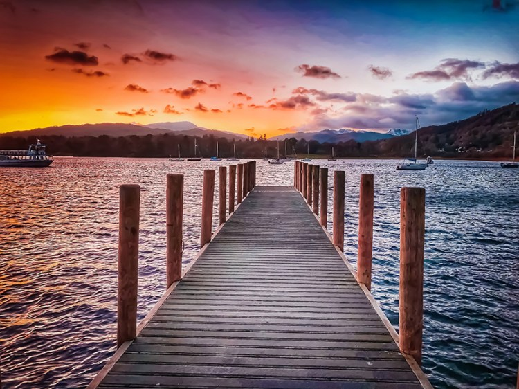 Windermere and the Lakes District - perfect options for romantic breaks UK