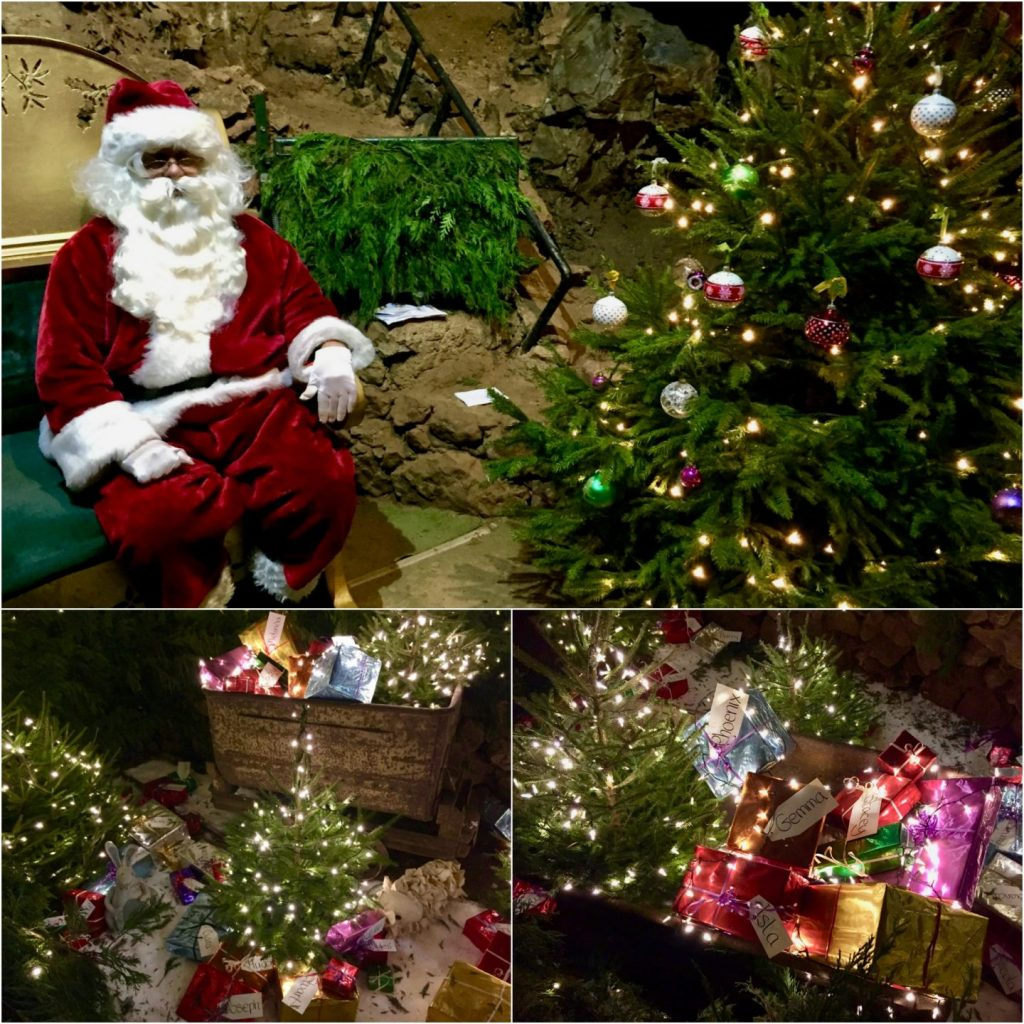 Santa review Clearwell Caves