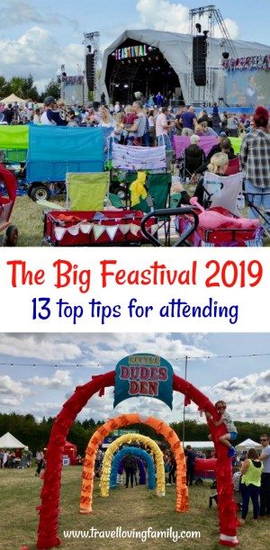 The Big Feastival 2019: 13 top tips for attending including camping and glamping options, what to pack, cost of food, activities for kids at The Big Feastival and what to do in the rain at The Big Feastival. #MyBigFeastival #Cotswolds #FamilyFriendlyFestival #TheBigFeastival