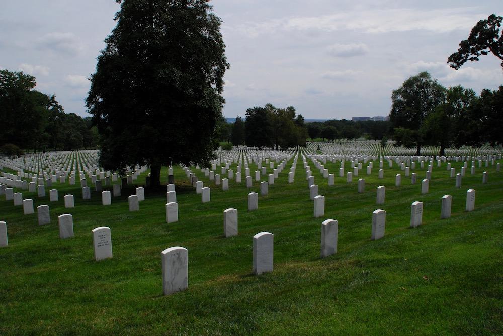 Arlington National Cemetery Washington D.C. Verenigde Staten