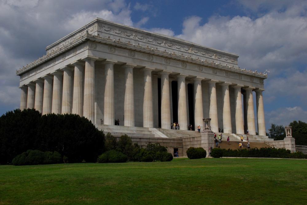 Lincoln Memorial Washington D.C. Verenigde Staten