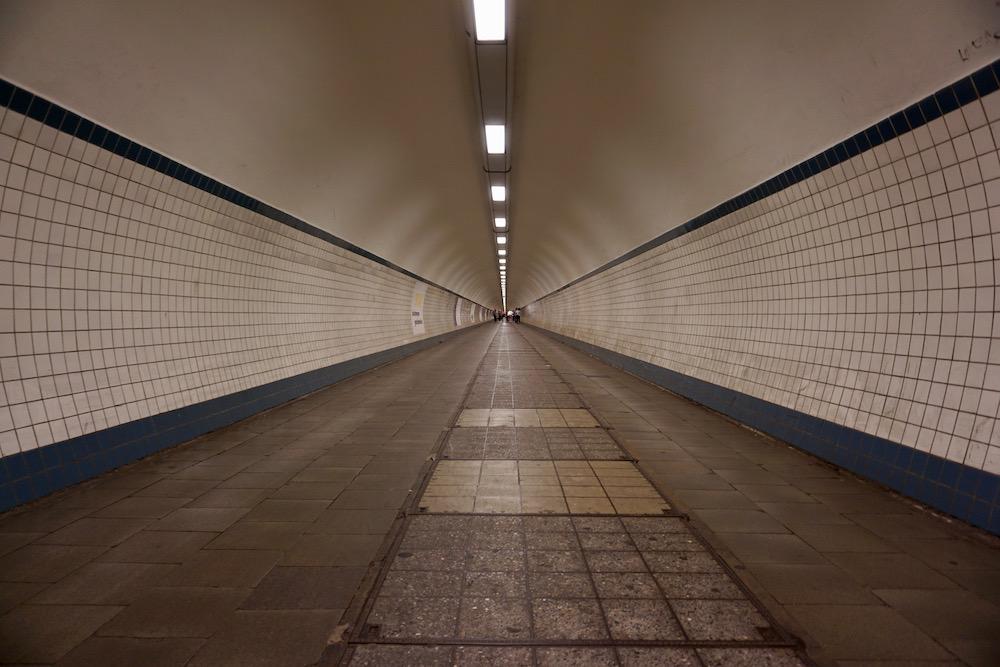Sint-Annatunnel Antwerpen België