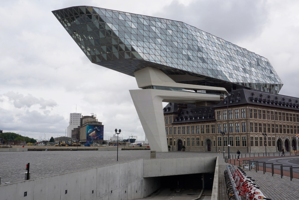 Het Havenhuis Eilandje Antwerpen België