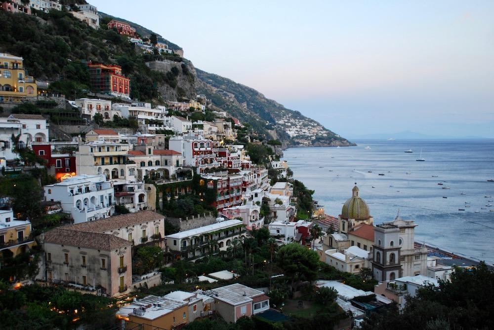 Positano Amalfikust Italië