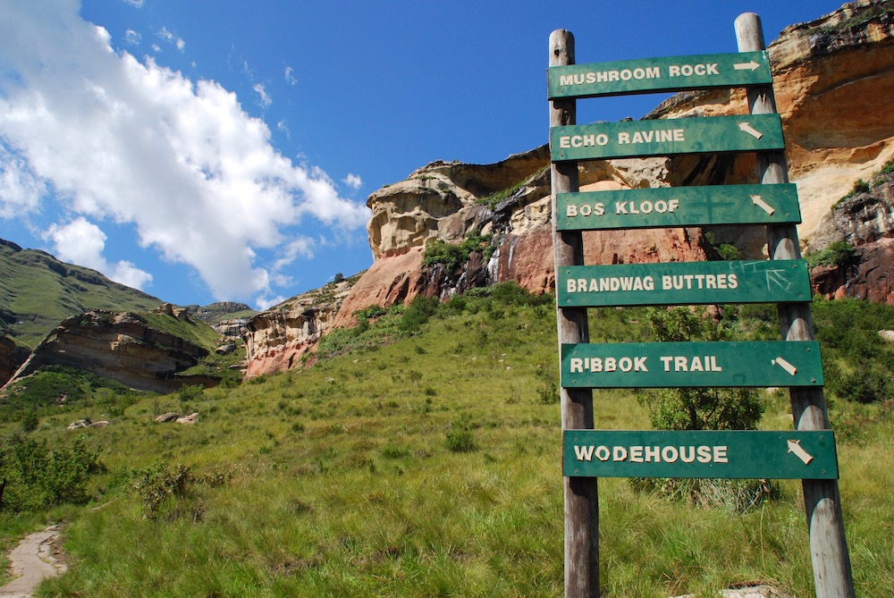 Route roadtrip Zuid-Afrika Golden Gate Highlands National Park