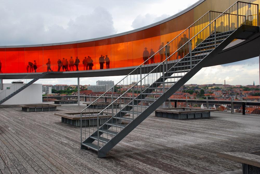 ARoS Kunstmuseum Aarhus Denemarken
