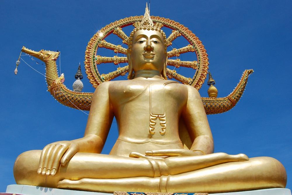 Wat Phra Yai Koh Samui Thailand
