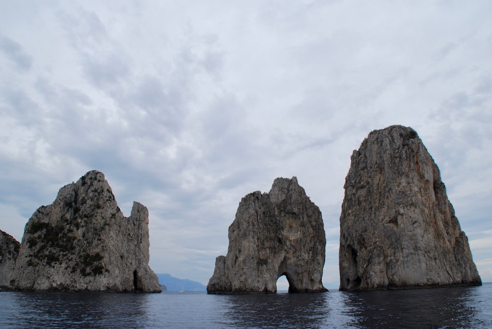 Faraglioni di Capri Italië