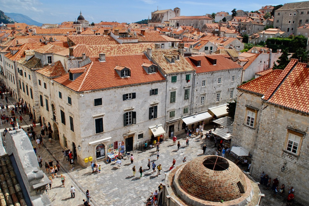 Fontein van Onofrio Dubrovnik Kroatië