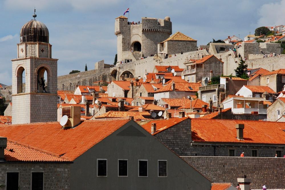 Fort Minčeta Dubrovnik Kroatië