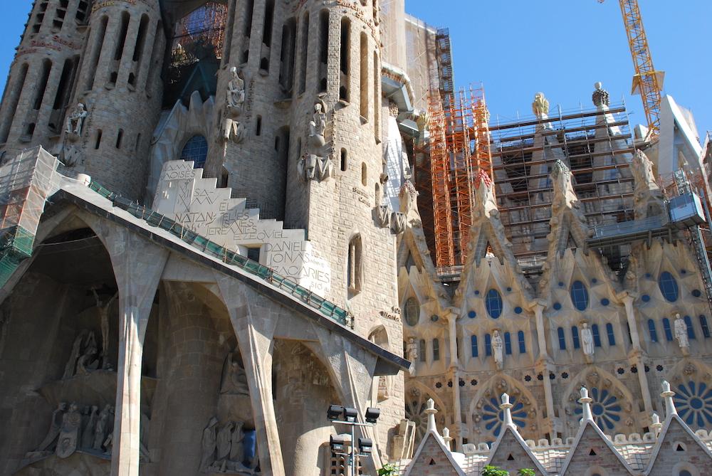 Antoni Gaudí Sagrada Família Barcelona Spanje