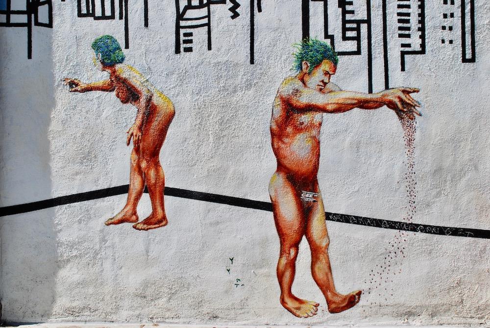 Street art San Francisco Verenigde Staten