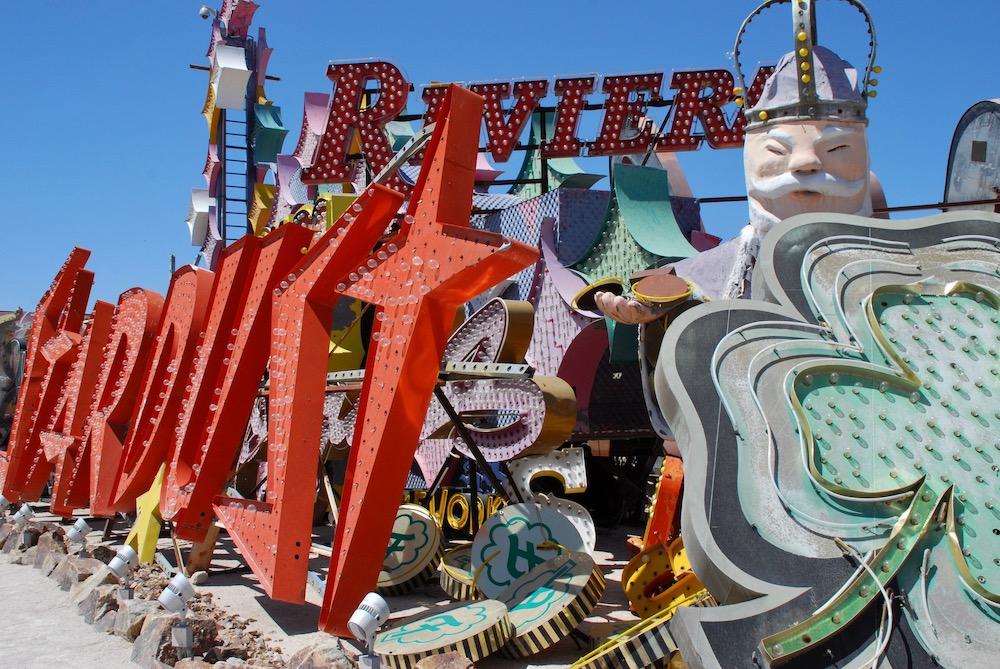 Route roadtrip Amerika Neon Museum Las Vages