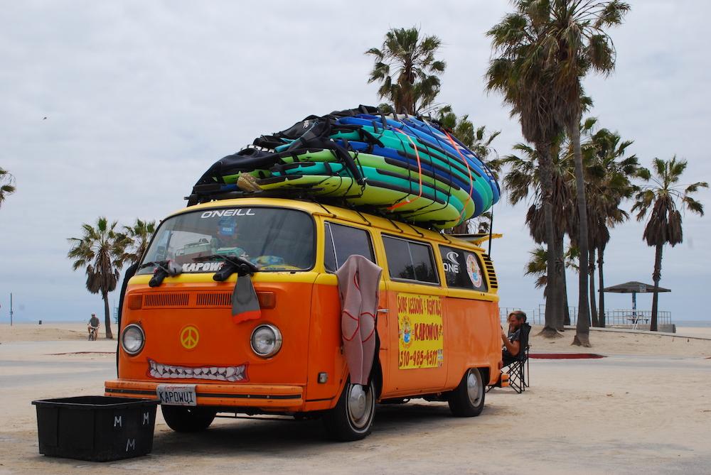 Route roadtrip Amerika Venice Beach Los Angeles