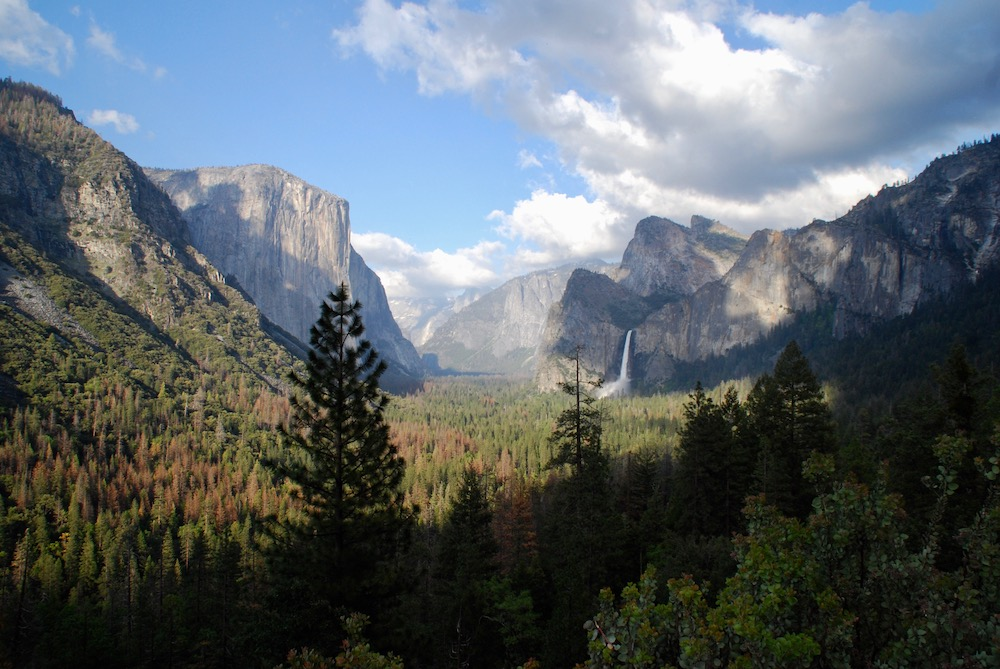 Route roadtrip Amerika Yosemite National Park