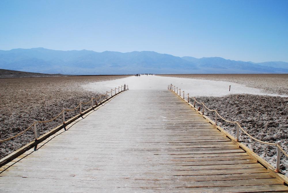 Badwater Basin Death Valley National Park Verenigde Staten
