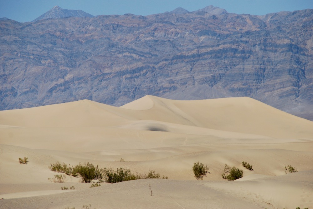 Mesquite Flat Sand Dunes Death Valley National Park Verenigde Staten