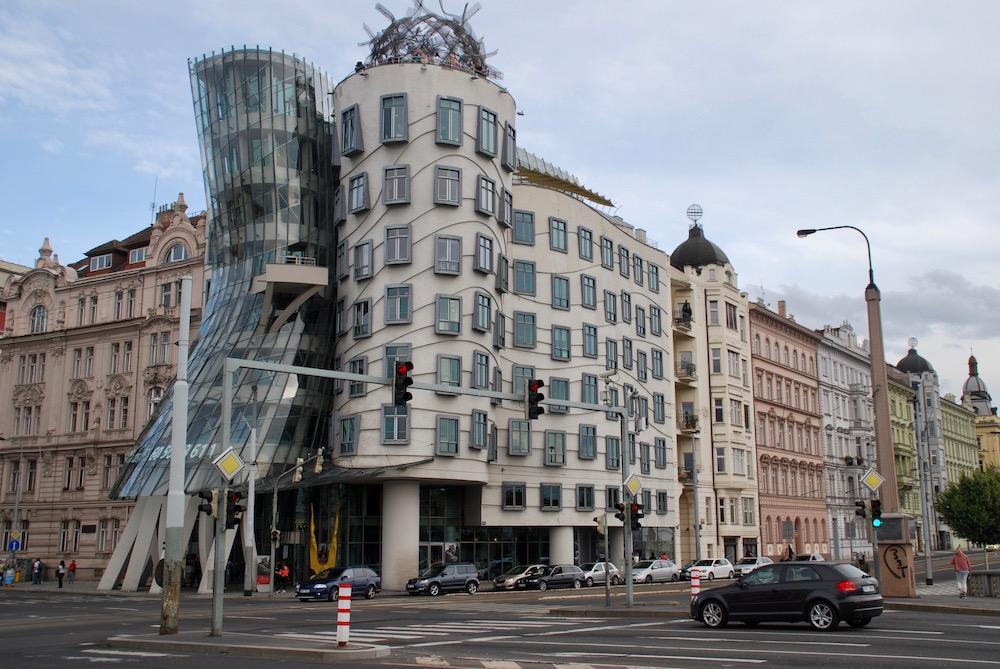 Het Dansende Huis Praag Tsjechië