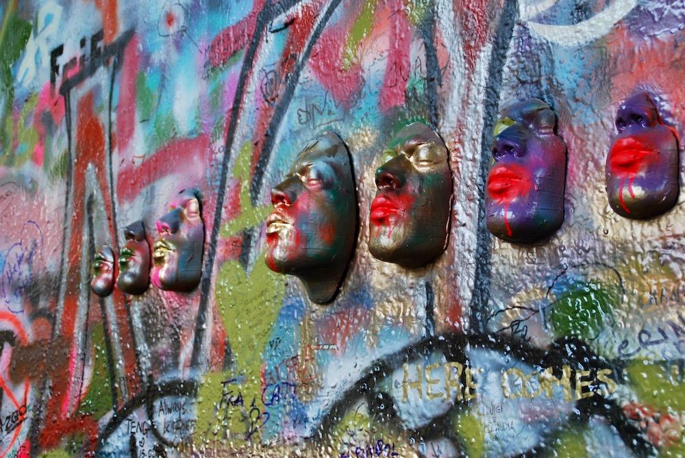 John Lennon Wall Praag Tsjechië