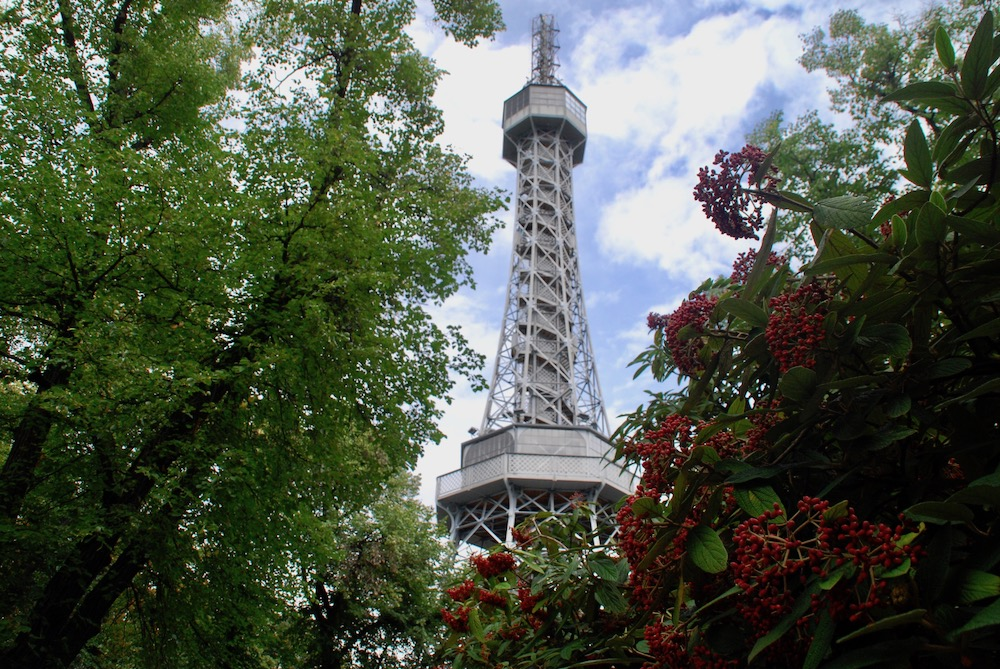 Petrin uitkijktoren Praag Tsjechië