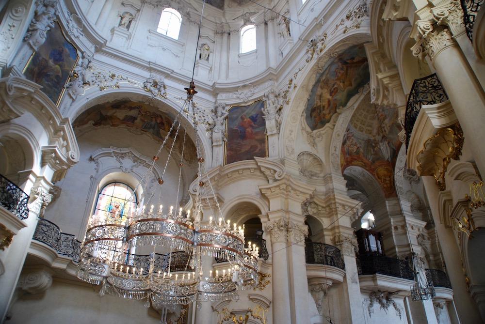 Sint-Nicolaaskerk Praag Tsjechië